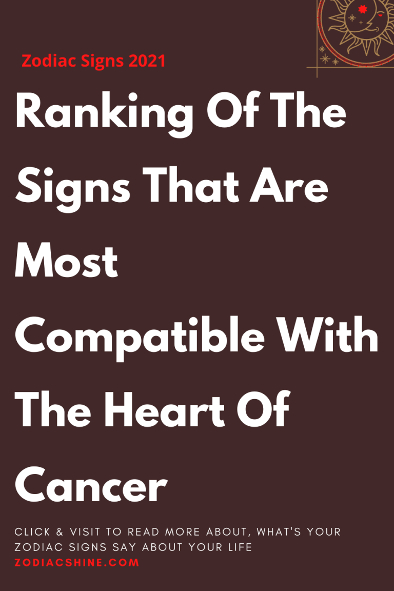 Most compatible star signs